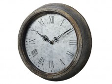 TIN WALL CLOCK