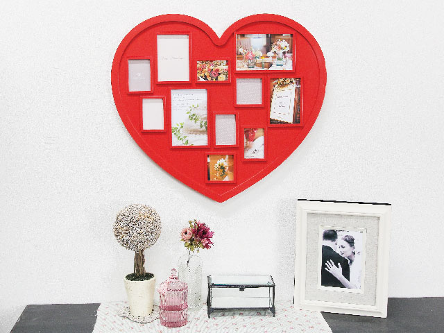 Décor with your memories.